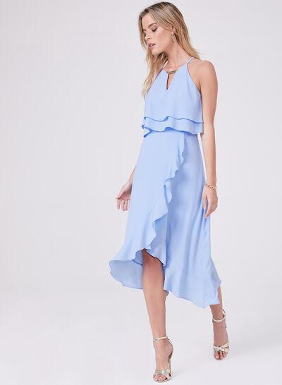 Kensie - Popover Crepe Dress