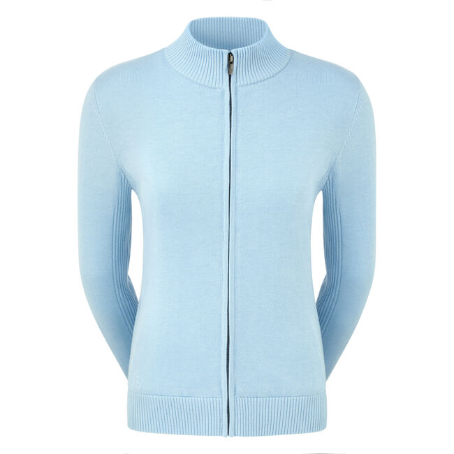 Full-Zip Lined Pullover Women