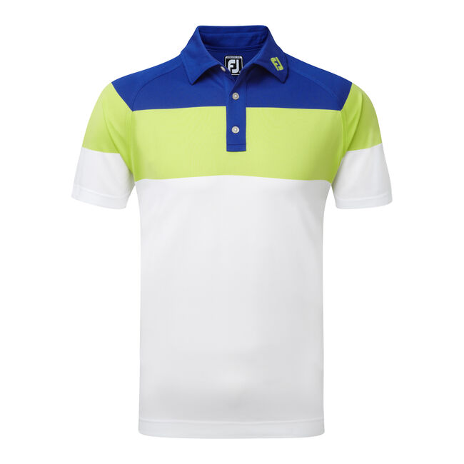 Raglan Chest Stripe Pique-Previous Season Style