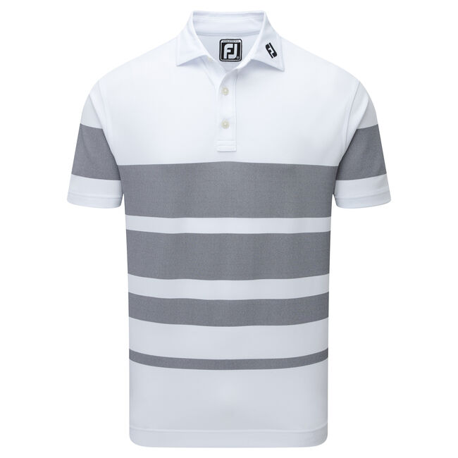 Stretch Pique Variable Birdseye Stripe-Previous Season Style