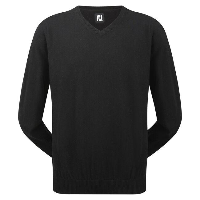 Lambswool V-Neck Pullover-Förra året Modell