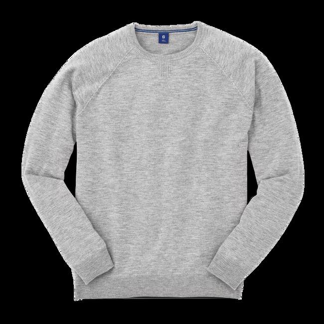 Cashmere Raglan Crewneck Sweater