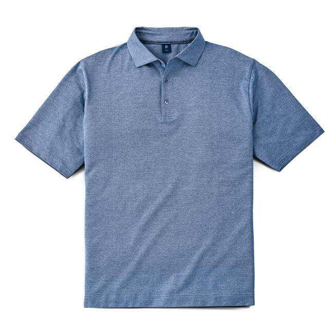 Birdseye Jacquard Knit Shirt