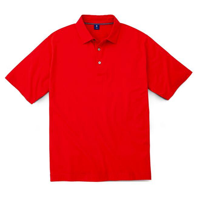 Stretch Lisle Smooth Placket Shirt