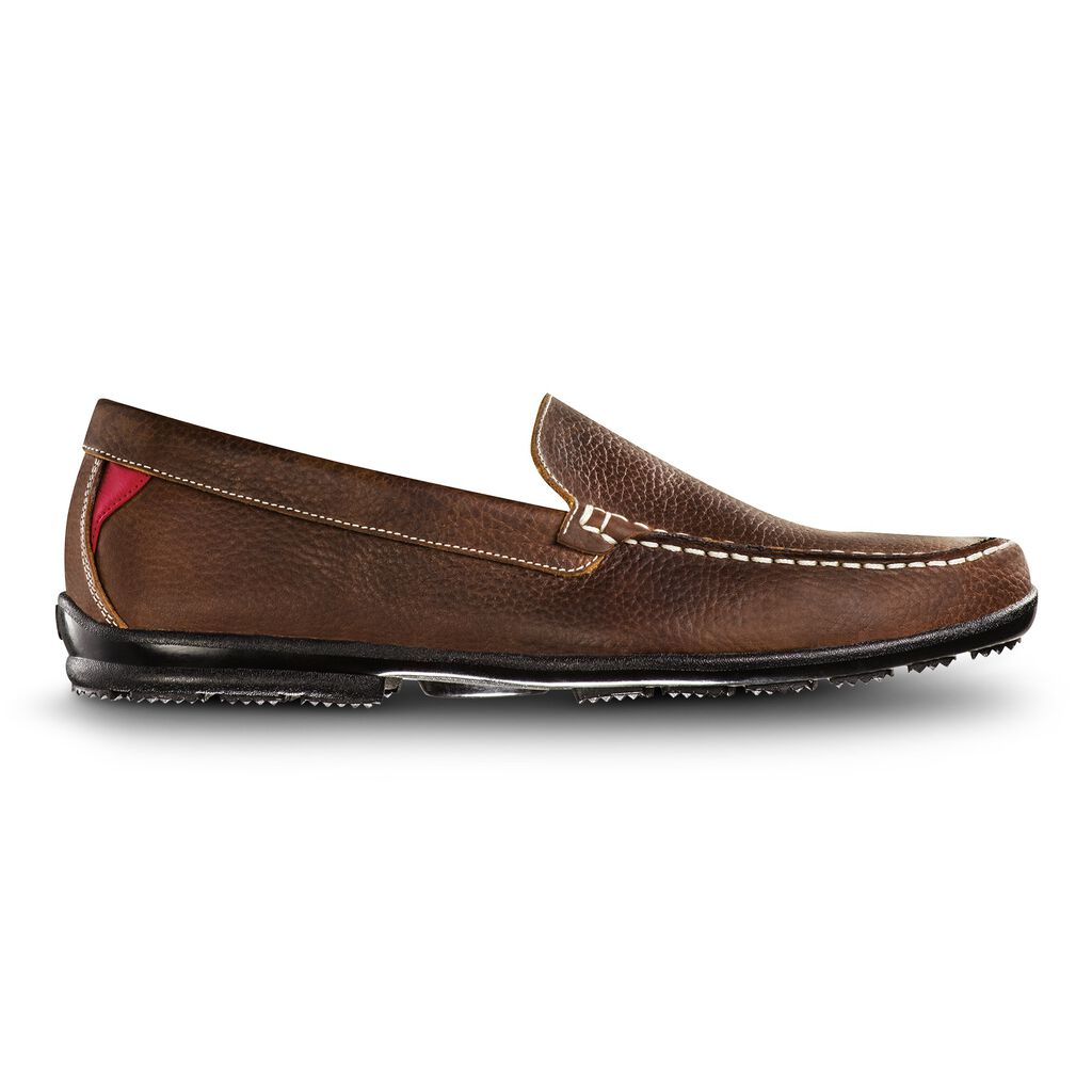 leather golf shoes for men club casuals footjoy