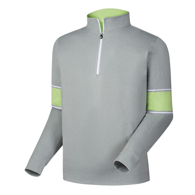 Performance Half-Zip + Engineered Sleeves