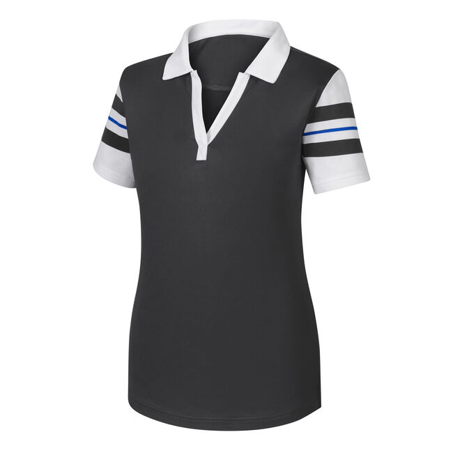 Baby Pique Sleeve Stripe Shirt Women