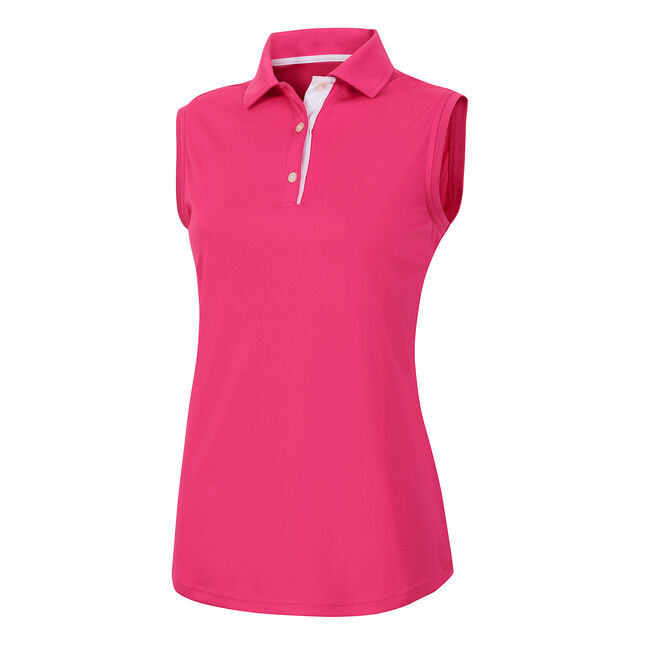 ProDry Interlock Sleeveless Shirt Knit Collar Women
