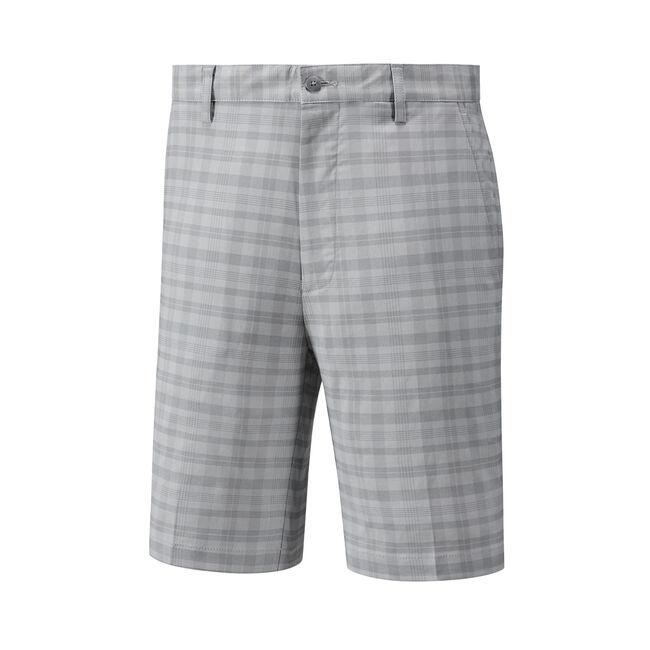 Tonal Plaid Shorts