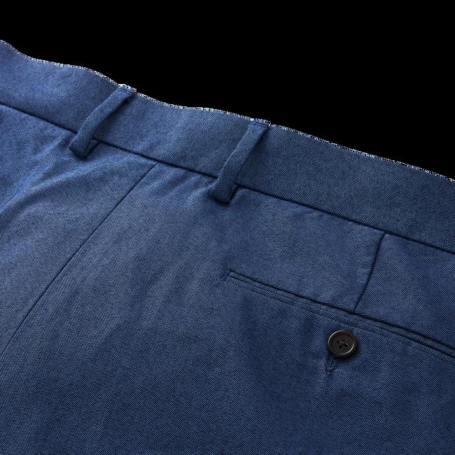 Stretch Cotton Chambray Pants