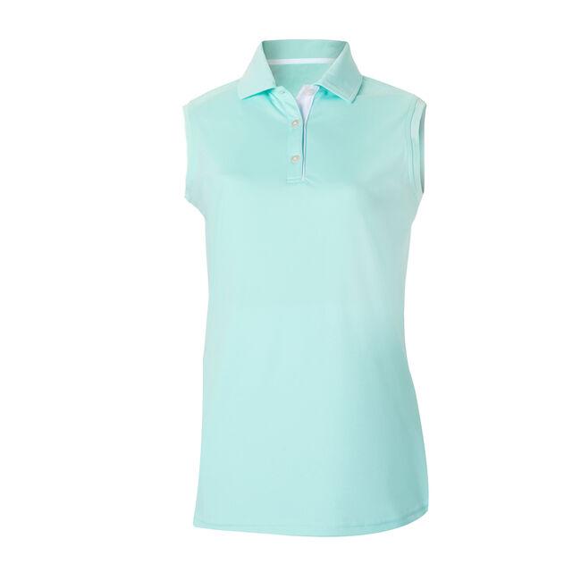 ProDry Interlock Sleeveless Shirt Knit Collar Women-Previous Season Style