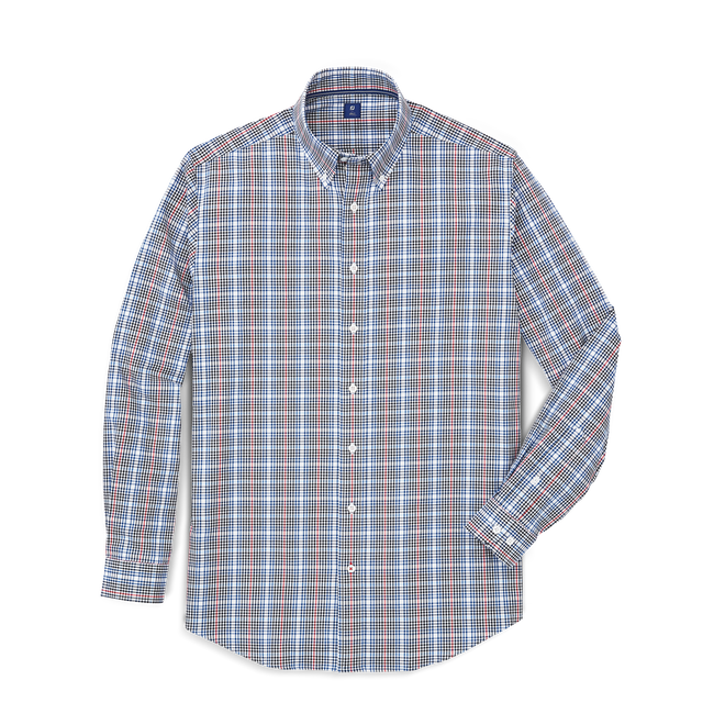 Stretch Cotton Woven Shirt