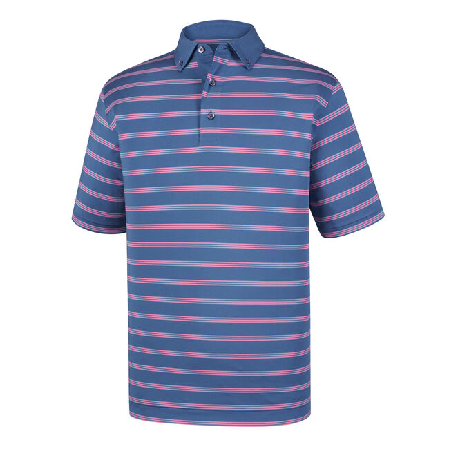 Lisle Multi Stripe + Solid Button Down Collar-Previous Season Style