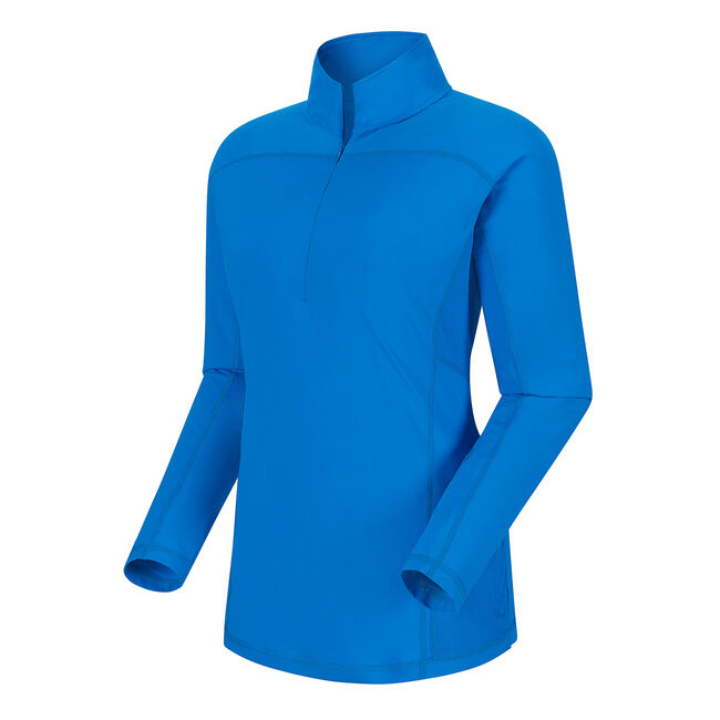 Lisle Half-Zip Sun Protection Women
