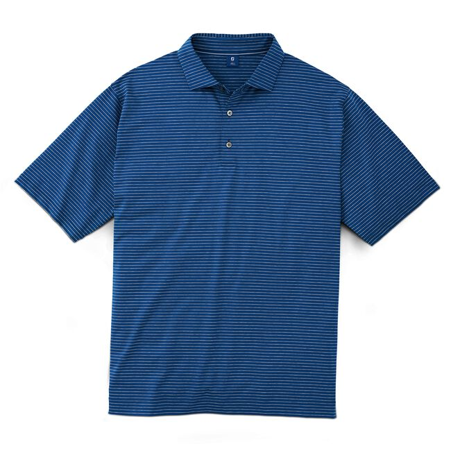 Stretch Lisle Mini Pencil Stripe Shirt