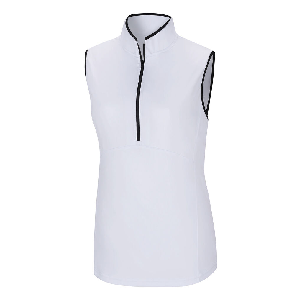 Sleeveless Half-Zip Shirt Women - FootJoy