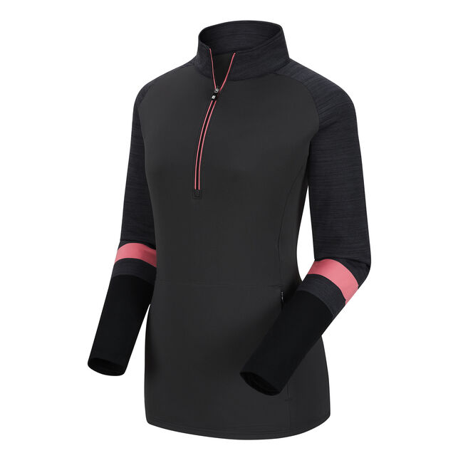 Half-Zip Stripe Engineered Sleeves  Women