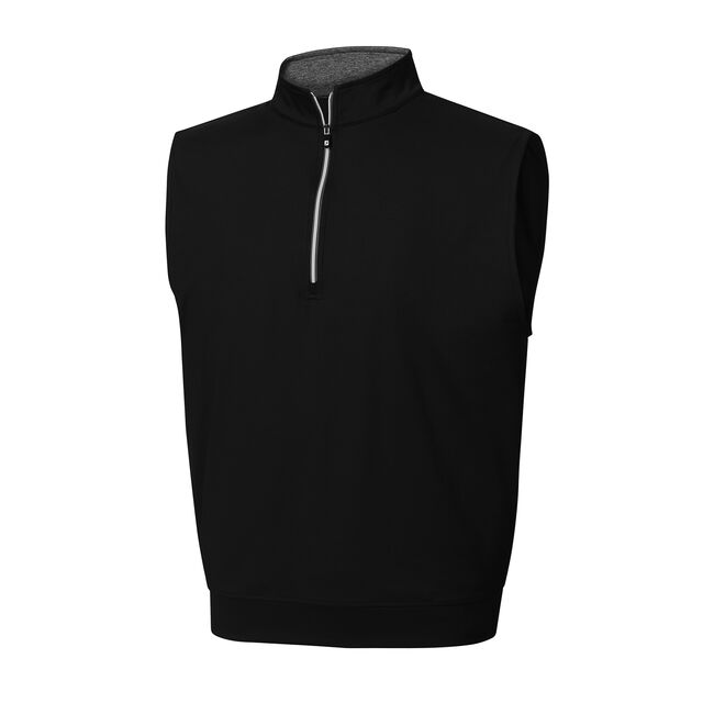 Half-Zip Jersey Vest-Previous Season Style