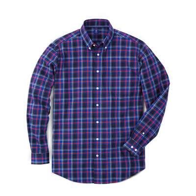 Navy Base Plaid