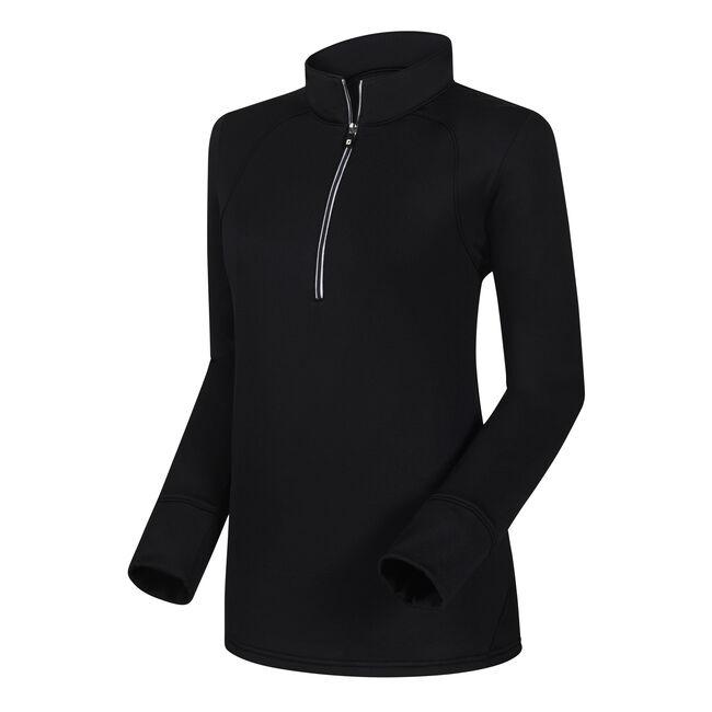 Half-Zip Textured Back Mid Layer Women-Previous Season Style