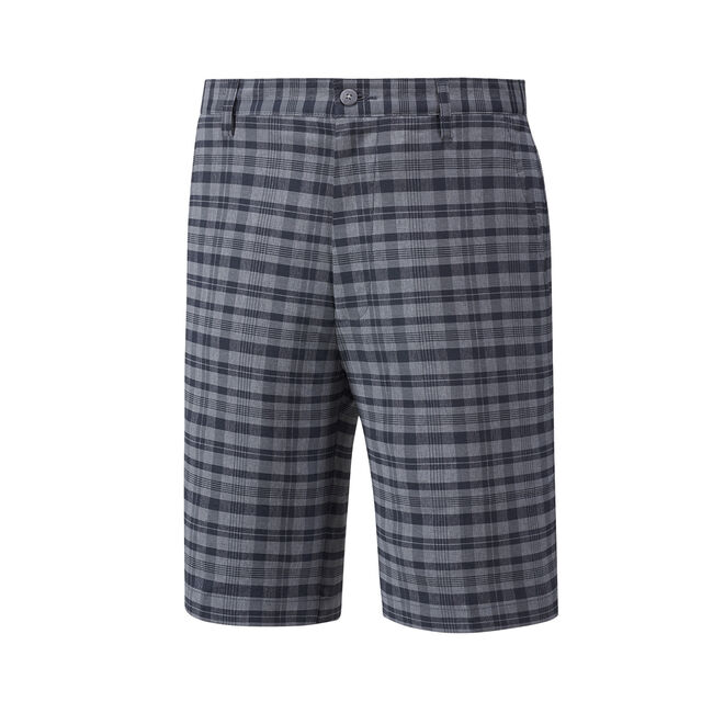 Tonal Plaid Shorts-Previous Season Style