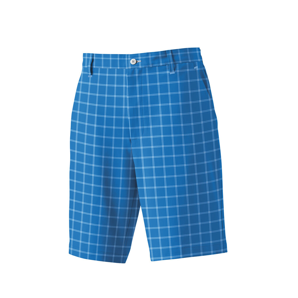 Frank: The thinking behind these is that they're not as boring as khaki shorts and you can still wear them with pretty much any shirt, assuming you bought a pair with enough different colors in the plaid pattern. Charles: It doesn't matter if the blue in your plaid shorts matches the blue in your polo shirt. The shorts are still ugly. 2.