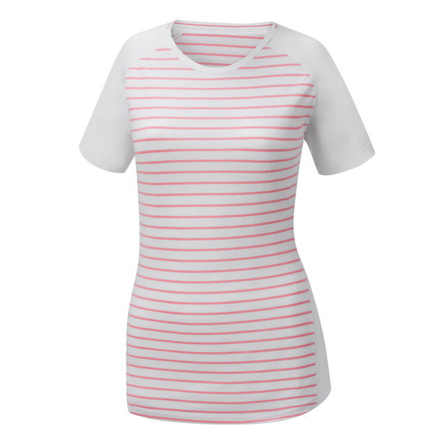 Striped Crew Neck Women