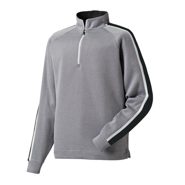 Flat Back Rib Half-Zip Pullover-Previous Season Style