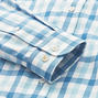 Stretch Twill Woven Gingham Shirt