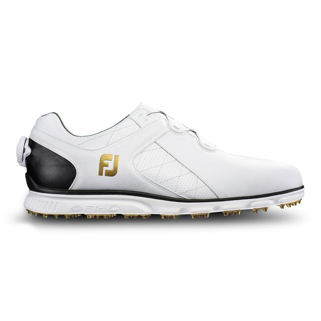 Black Wide Golf Shoes