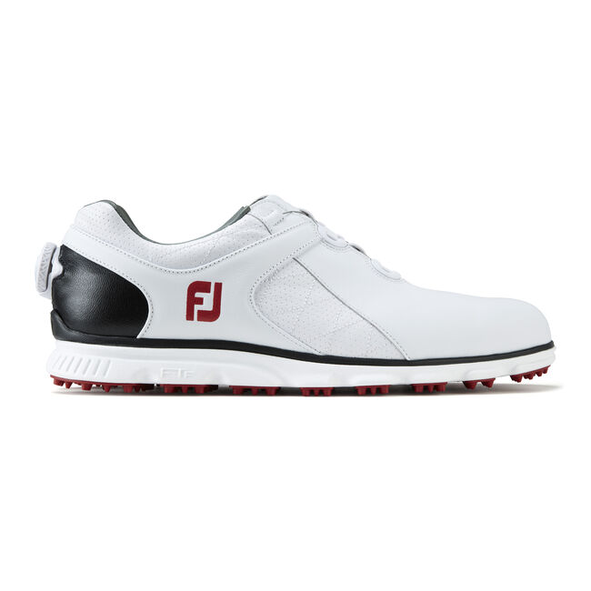 Footjoy Icon Black Mens Golf Shoes Tan   Wide