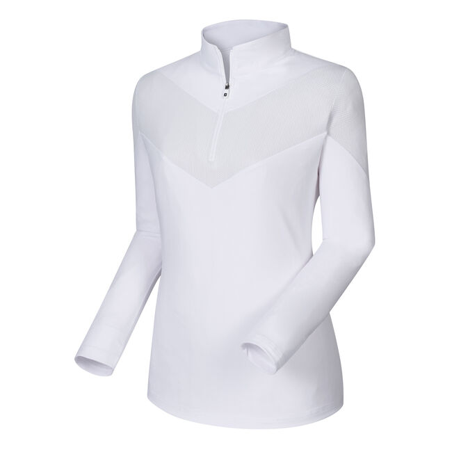Engineered Jersey Half-Zip Women
