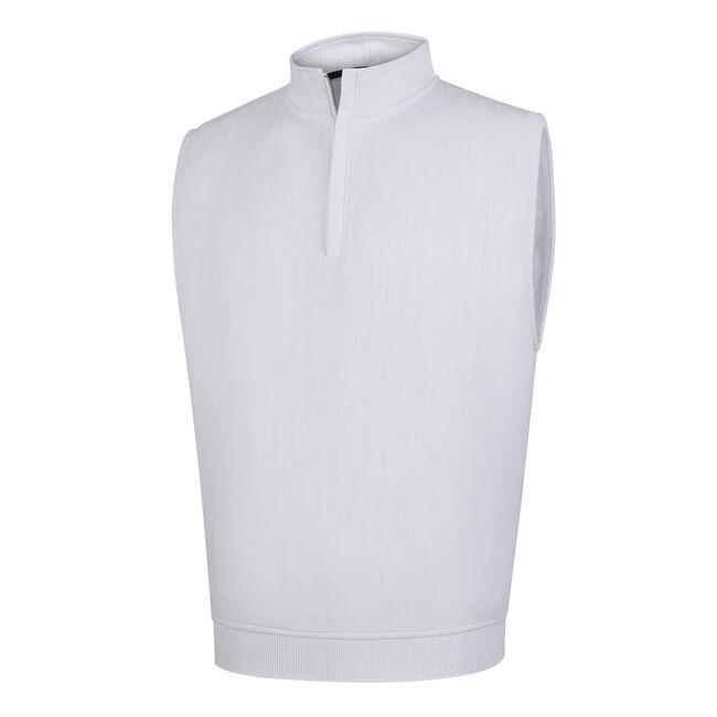 Drop Needle Half-Zip Vest-Previous Season Style