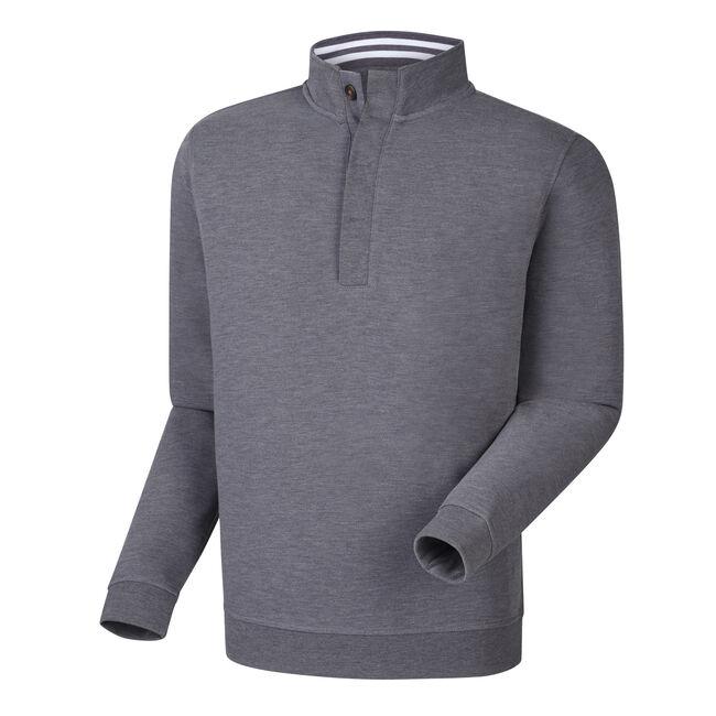 Spun Poly Button Placket Pullover-Previous Season Style