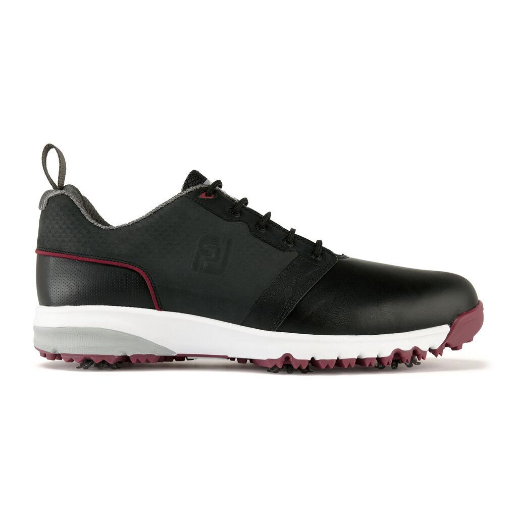 Contourfit White Black Golf Shoe