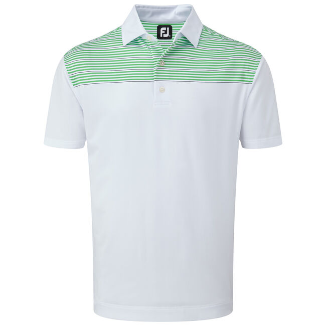 Stretch Lisle with Shoulder Stripes-Previous Season Style