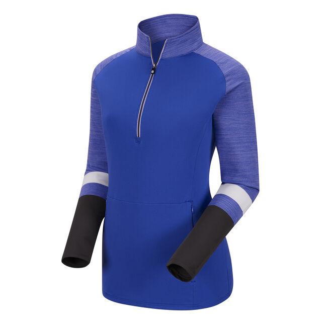 Half-Zip Stripe Engineered Sleeves  Women-Previous Season Style