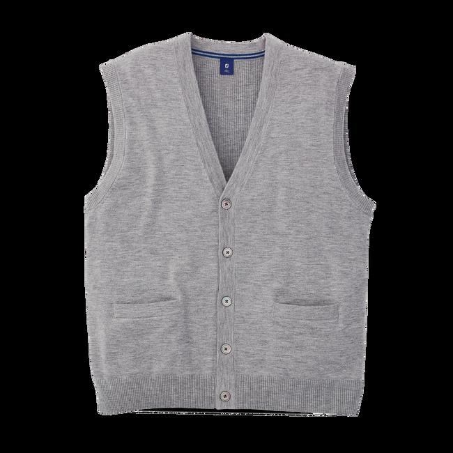 Cashmere Cardigan Vest