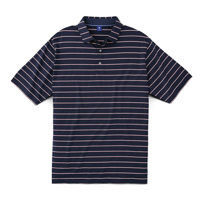 Stretch Lisle Multi Stripe Shirt
