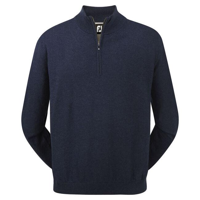 Lambswool Half Zip Pullover-Vorjahresmodell
