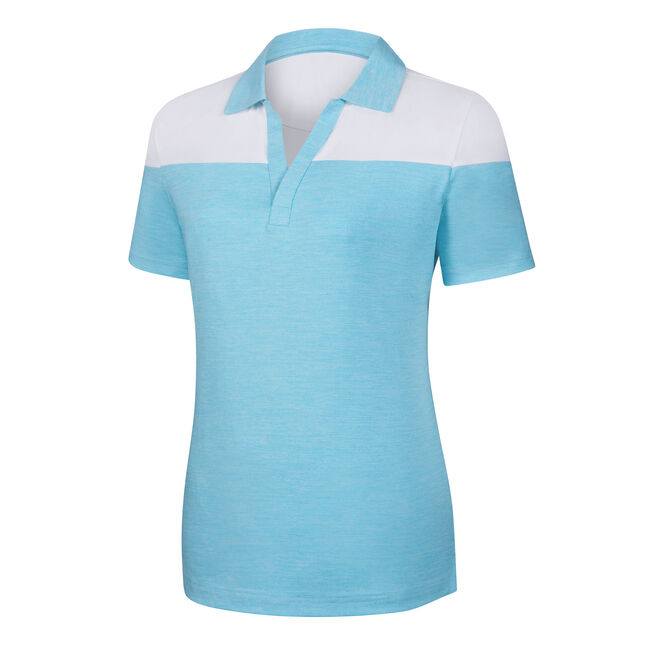 Lisle V-Neck Short Sleeve Women