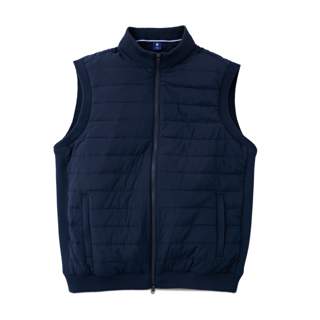Full-Zip Quilted Vest
