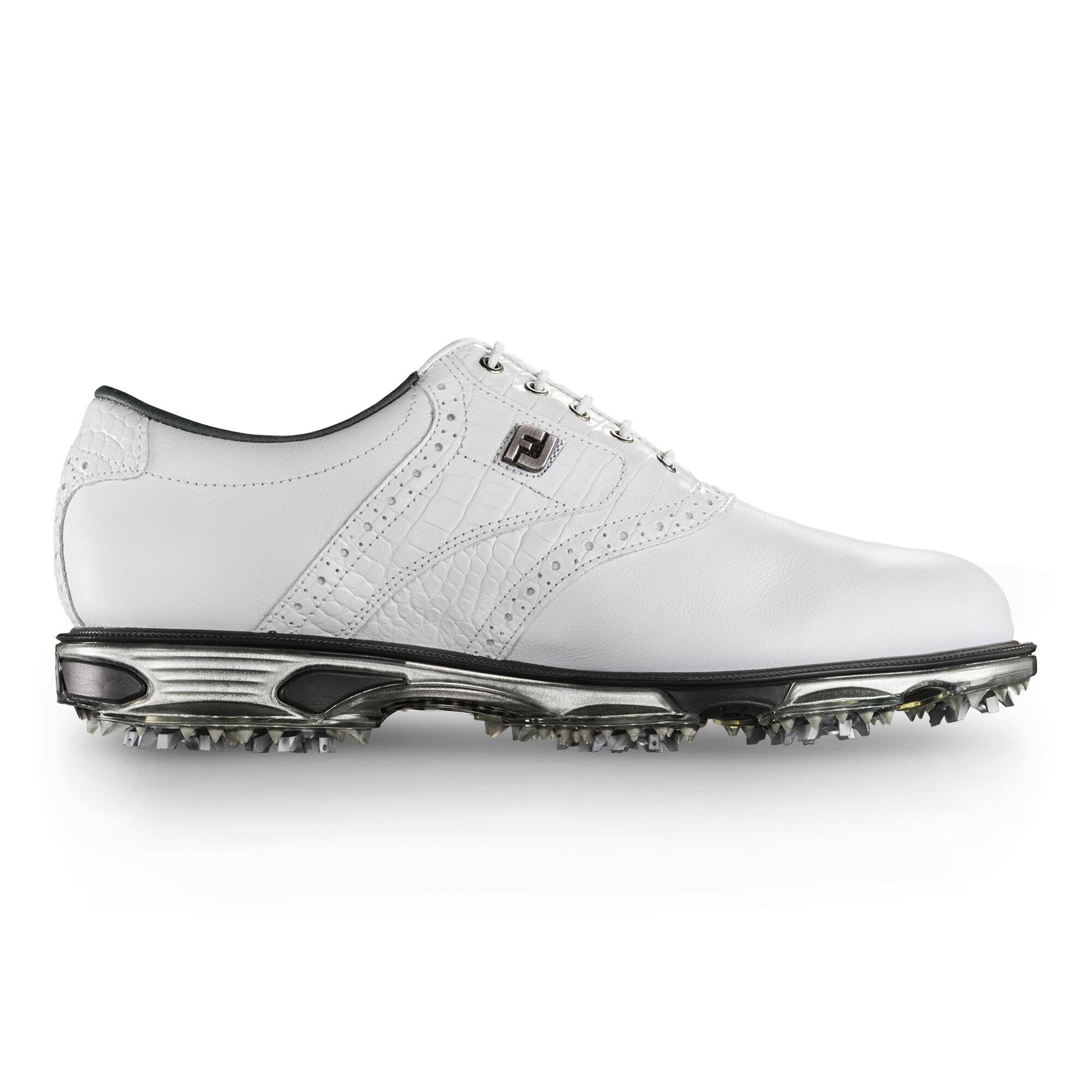Women's Footjoy Lopro Golf Shoes (Closeout) White/Tan V29s7698