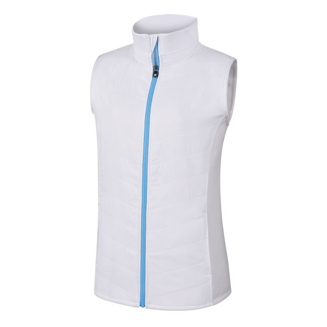 Full-Zip Quilted Hybrid Vest Women-Previous Season Style