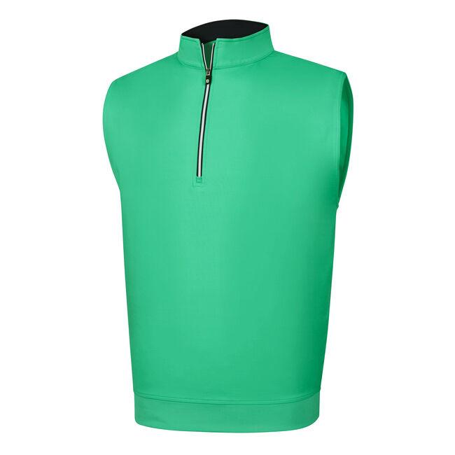 Half-Zip Jersey Vest