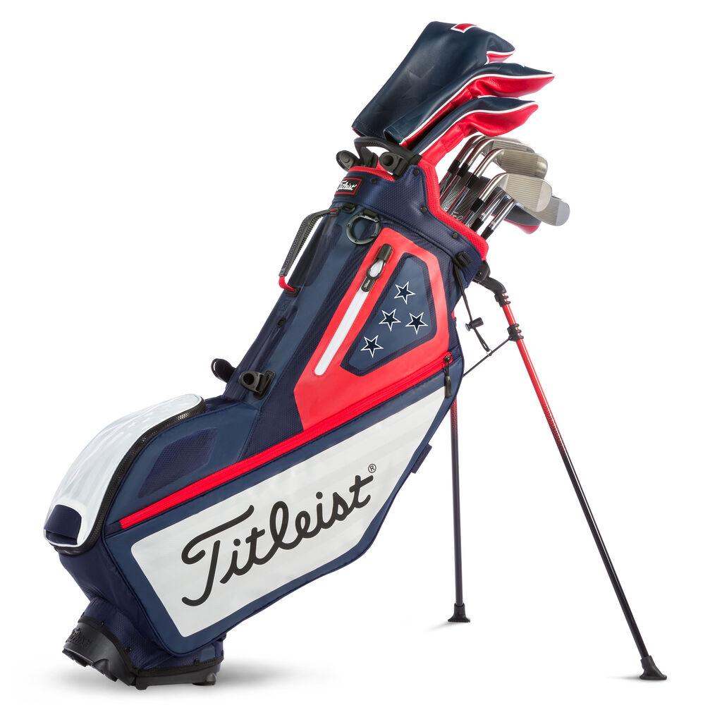 Buy Players 4 USA Flag Golf Bag | leist on golf pull carts, golf club bag, golf trolley, golf stand bag, golf galaxy, golf push carts, golf travel bag, golf course accessories supplies, golf gifts, golf shopping bag, golf digest hot list bags, golf pants,
