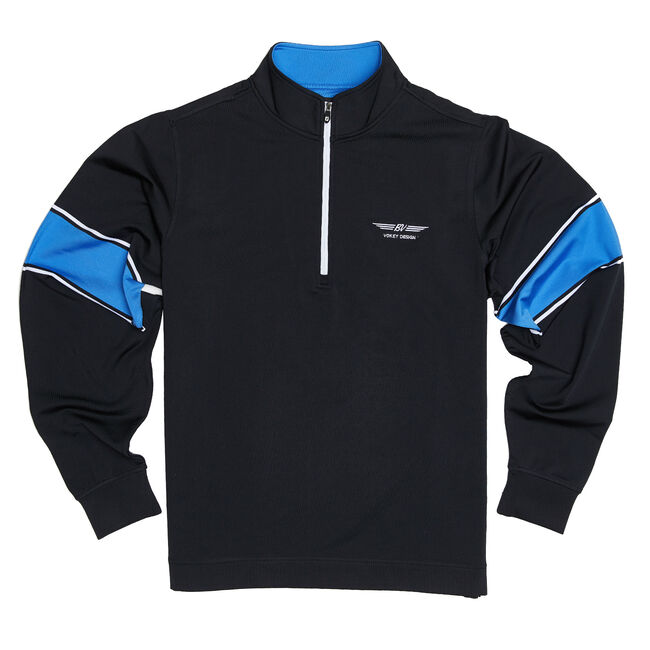 FJ Performance Half-Zip + Engineered Sleeve - Black/Marine/White