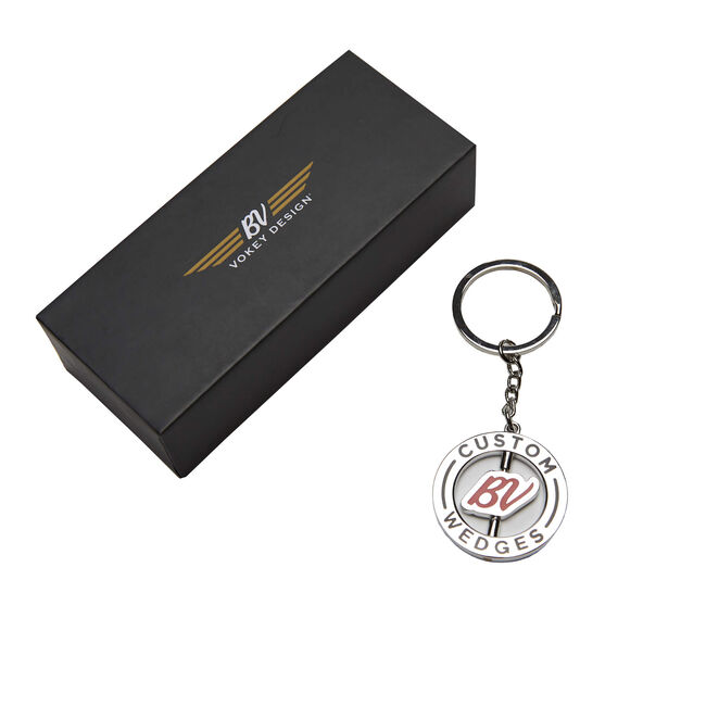 Vokey Spinner Keyring - Nickel