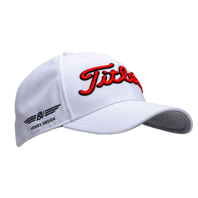 Vokey Tour Elite Cap - White/Red