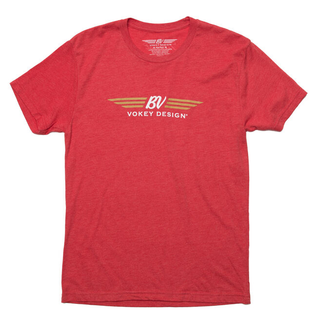Vokey Design T-Shirt - Vintage Red